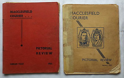 2 Copies - Macclesfield Courier Pictorial Review 1935 & 1936