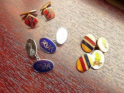 Vintage Cuff Link  Collection (3 Pair)
