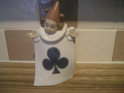 Nao Jester Playing Card Figure (Clubs)