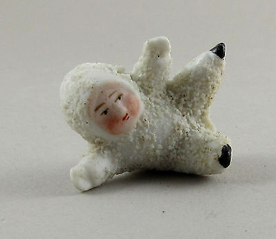 Vintage Hertwig Germany Snowbaby Snow Baby Tumbling e14