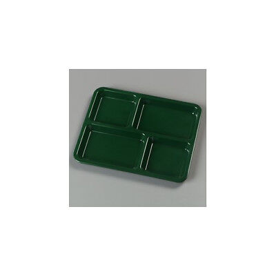 Carlisle Food Service Products Right Hand 4-Compartment Tray Set of 12