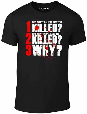 Inspired by Walking Dead Walkers Zombies Grimes t shirt TV Team Negan T-Shirt