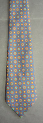 Vintage 60s Tie: Gentleman's Ginger on Navy