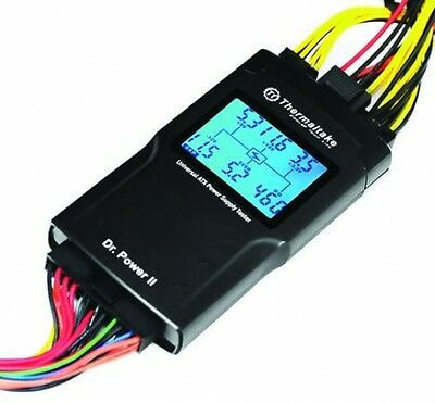 Thermaltake Dr. Power II Automated Power Supply Tester Oversized LCD For All -