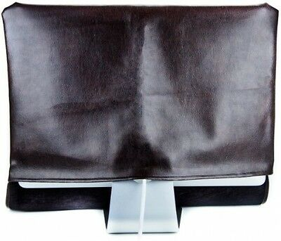 Kuzy - Brown Leather Full Cover For IMac 21.5 IMac 20 Dust Cover, Display -