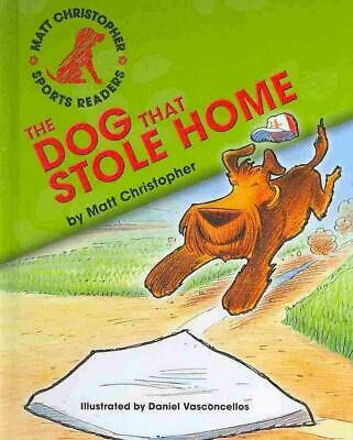 The Dog That Stole Home by Matt Christopher (English) Library Binding Book Free