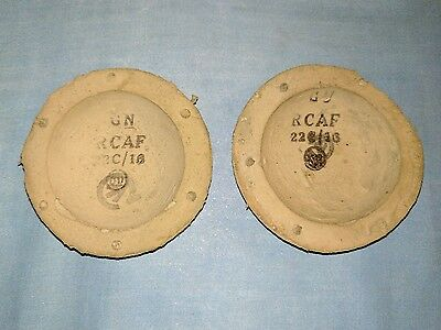 ww2 RAF B-type helmet zip ear sponges