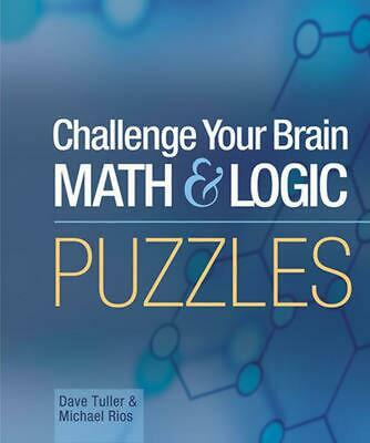 Mensa Challenge Your Brain Math & Logic Puzzles by Dave Tuller (English) Spiral