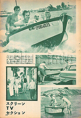 1961, Clint Eastwood / Robert Fuller Japan Vintage Clippings 3sc11