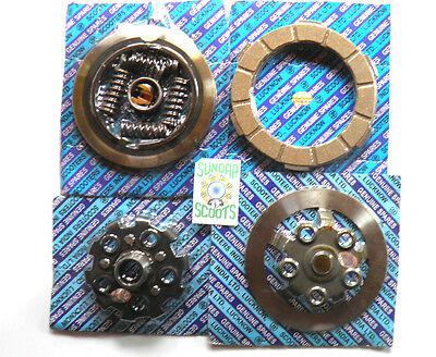 Complete Sil 4 Plate Clutch Kit & Fittings.good For Lambretta Gp Scooters