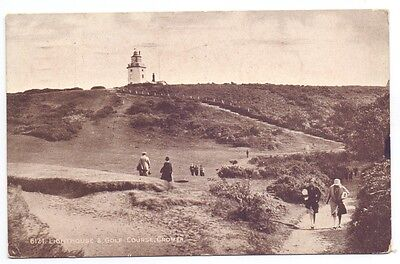 Lighthouse & Golf Course,Cromer.publisher Salmon No 6121    (G)