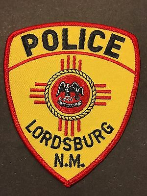 Lordsburg  New Mexico  Police Shoulder Patch