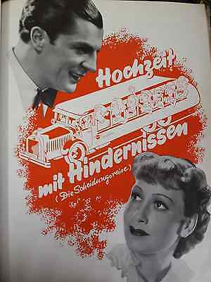 193?-Film-Wedding With Obstacles(Hochzeit Mit Hindernis-Germany Size 10/15 Inch
