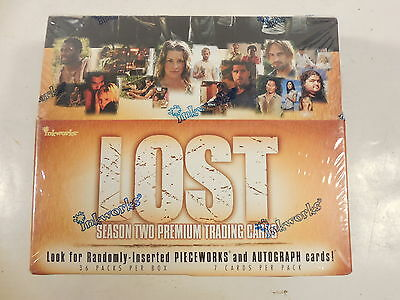 Sealed Lost Season Two Premium Trading Cards Box Inkworks 2006 Tv Show 36 Packs