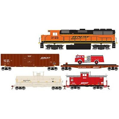Roundhouse HO First Responder Train Set BNSF RND14265