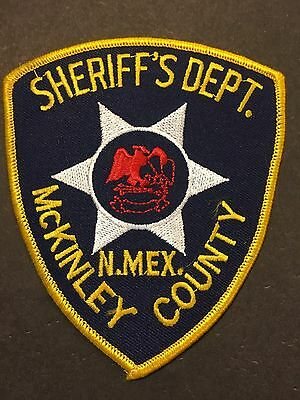 McKINLEY  COUNTY NEW MEXICO  SHERIFF  SHOULDER PATCH