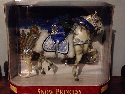 "Breyer Traditional ""Snow Princess"" Holiday Model NIB"