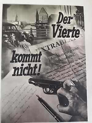 193?-Film The Fourth Does Not Come(Der Vierte Kommtnicht-Germany Size 10/15 Inch