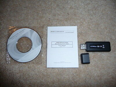 ESYNIC USB WiFi high speed Dongle - 433mbs - BRAND NEW - UN-NEEDED GIFT