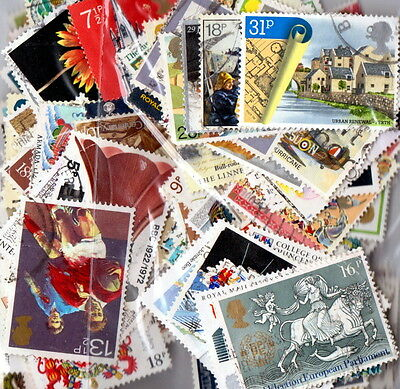QEII 1971-89  150 different Commemoratives used (j384)