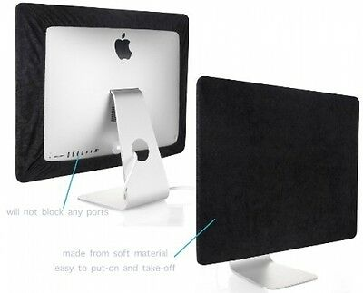 Kuzy - Black Screen Cover For Apple IMac 27 Dust Cover, Display Protector A1312
