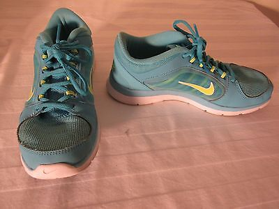 Nike Sneakers 'Training' Athletic Blue Women's Shoes--Size 7.5