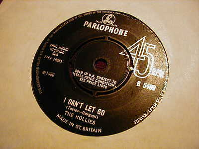 "The Hollies, I Can't Let Go ,7"" Vinyl"