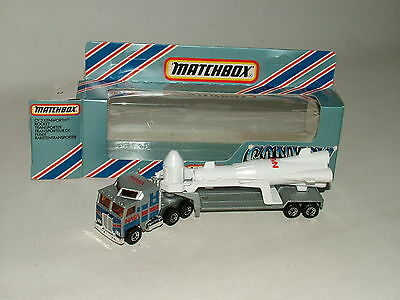 MATCHBOX CONVOY SERIES 1:90 DIECAST KENWORTH ROCKET TRANSPORTER BOXED  No.CY-2