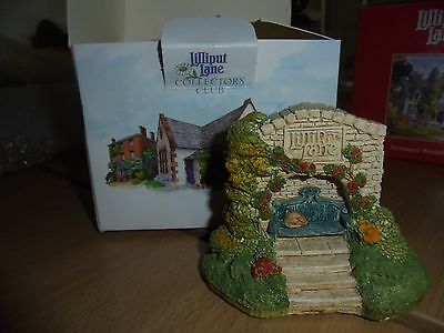Lilliput Lane collectors Houses Boxed Cosy Corner