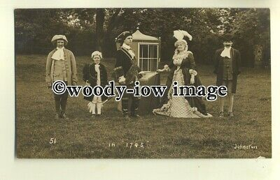 su1811 - Country Historical Pageant Event (c1745) -  postcard