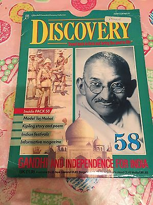 Marshall Cavendish Discovery Collection Part 58 Gandhi