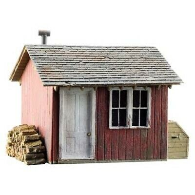 Woodland Scenics BR5857 O Scale Work Shed