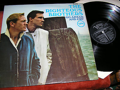 THE RIGHTEOUS BROTHERS -   Go Ahead And Cry,   ORIG 1966 UK MONO LP....NICE COPY