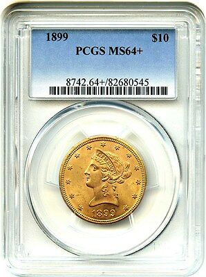1899 $10 PCGS MS64+ Liberty Eagle - Gold Coin