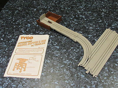 Rare Tyco Us1 Ho Scale Gravel Unloading Bin And Track