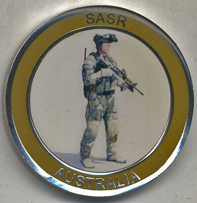 S.A.S. Australian Special Air Service Regiment CHALLENGE COIN Guaranteed GENUINE