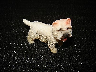 Dolls House Dog Standing Westie Resin Pet Miniature 12 Th Scale Accessories
