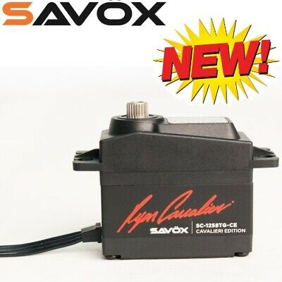 Savox SC1258TG-CE Coreless Digital Servo Ryan Cavalieri Edition