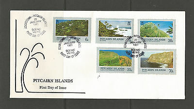 Pitcairn Island 1981 Landscapes/Scenes FDC, SG211-215