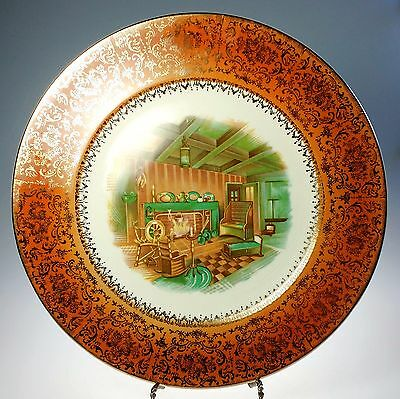 Salem China Imperial Homestead Service Plate Charger USA