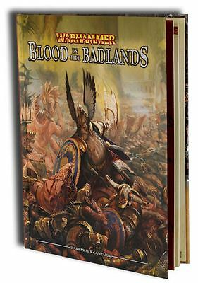 """Warhammer Campaign: Blood in the Badlands""  Fantasy hardcover rule book OoP"