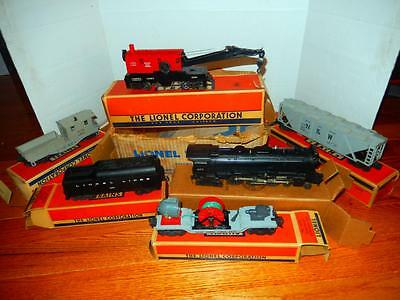 Lionel Post-War Set #2277Ws - 665 Freight Set- Boxed And Set Boxed- Rs1