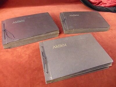 3 Postcard Albums 960+ Cards ESTATE FIND PRIVATE COLLECTION 1900s-1950s CALIF US