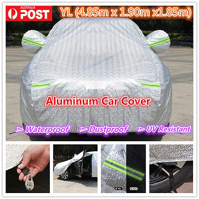 YL Premium Double thick waterproof car cover rain resistant UV dust protection