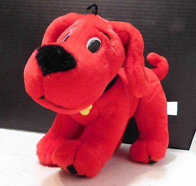 Scholastic CLIFFORD THE BIG RED DOG Stuffed Plush Animal CHARACTER TOY Cute
