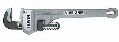 IRWIN VISE-GRIP Tools Cast Aluminum Pipe Wrench, 2-Inch Jaw Capacity, 14-Inch