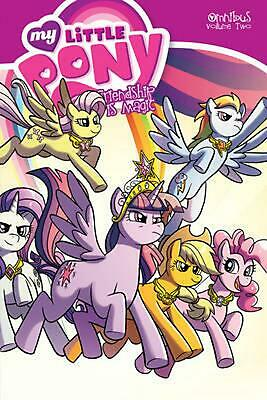 My Little Pony Omnibus Volume 2 by Heather Nuhfer (English) Paperback Book Free