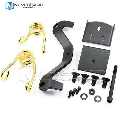 Solo Seat Springs Bracket Kit For Harley Sportster Bobber Chopper Glide Golden
