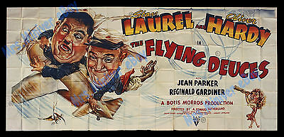 The Greatest Comedy Movie Poster In The History Of Laughter 1939 Laurel & Hardy!