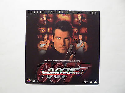 Laserdisc James Bond 007, Tomorrow Never Dies, Pierce Brosnan, PG-13, 2 Disc´s